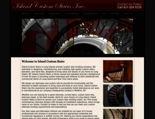 longislandcustomstairs.com screenshot