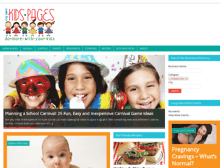 longislandkidspages.com screenshot
