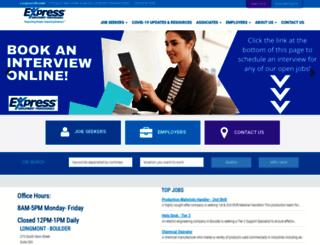 longmontco.expresspros.com screenshot