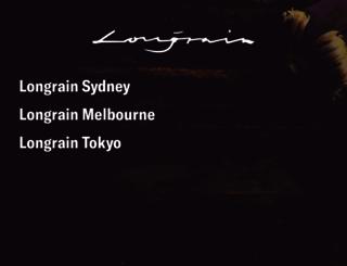 longrain.com.au screenshot