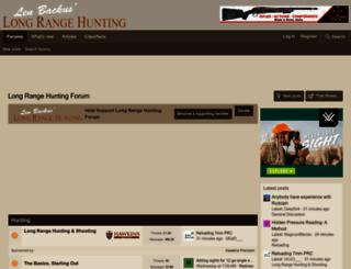 longrangehunting.com screenshot