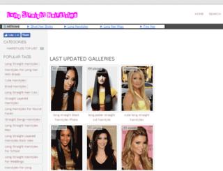 longstraighthairstyles.com screenshot