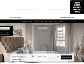 longstreethotel.com screenshot
