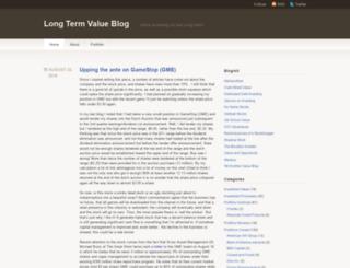 longtermvalue.wordpress.com screenshot