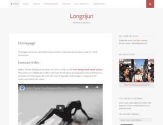 longzijun.wordpress.com screenshot