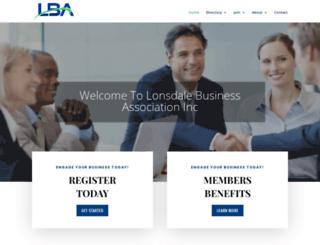 lonsdalebusinessassociation.com screenshot