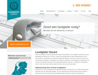 loodgieter-garant.nl screenshot