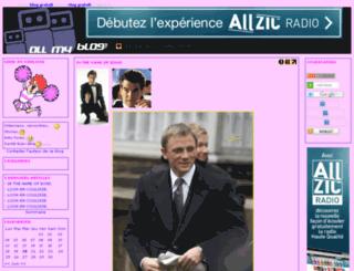 look-en-coulisse.allmyblog.com screenshot