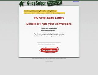 look.copysniper.com screenshot