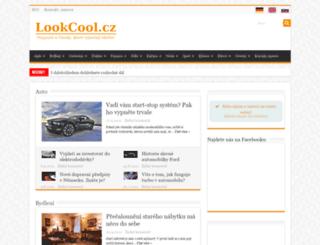 lookcool.cz screenshot