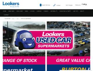 lookerstradecentre.co.uk screenshot