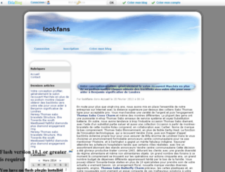 lookfans.eklablog.com screenshot