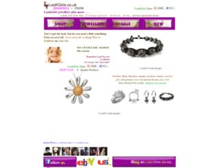 lookgirls.co.uk screenshot