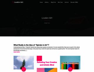 lookinart.net screenshot