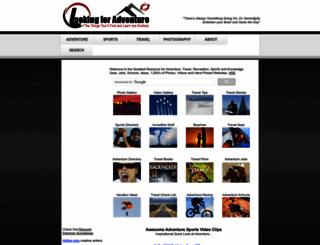 lookingforadventure.com screenshot