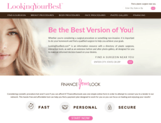 lookingyourbest.com screenshot