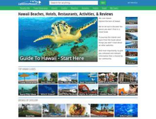 lookintohawaii.azurewebsites.net screenshot