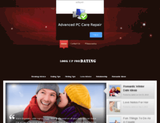 lookupfordating.com screenshot