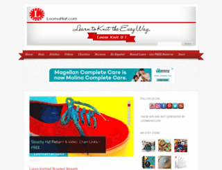 loomahat.com screenshot