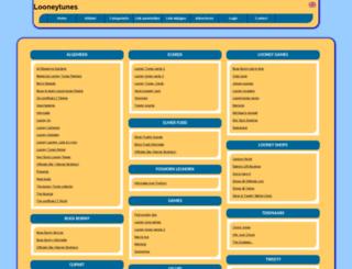 looneytunes.allepaginas.nl screenshot