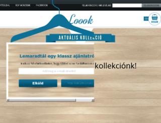 loook.hu screenshot