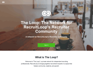 loop.recruitloop.com screenshot