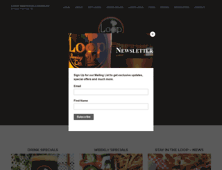 loopbrewingcompany.com screenshot