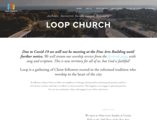 loopchurch.org screenshot