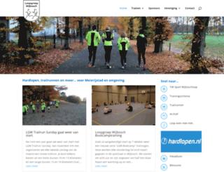 loopgroepwijbosch.nl screenshot
