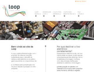 looplogisticareversa.com.br screenshot