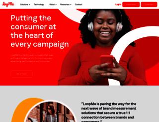 loopme.com screenshot