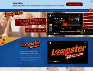 loopster.com screenshot