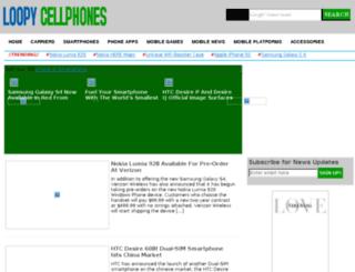 loopycellphones.com screenshot