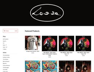 looserecords.bigcartel.com screenshot