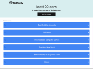loot100.com screenshot