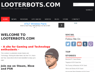 looterbots.com screenshot