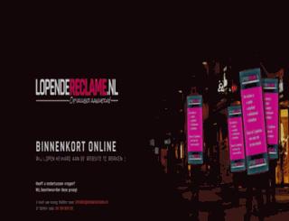 lopendereclame.nl screenshot
