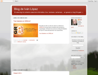 lopezivan.blogspot.com screenshot