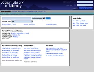 lopl.sirsi.net screenshot