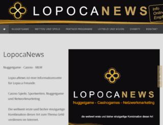 lopocanews.com screenshot