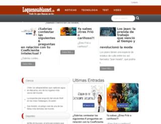 loquenosabiasnet.info screenshot