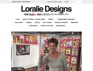 loraliedesigns.com screenshot