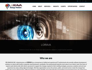 lorava.com screenshot