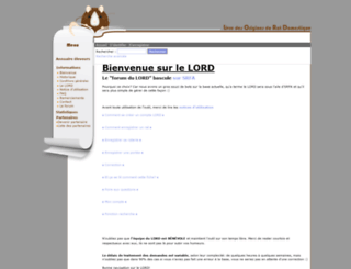 lord-rat.org screenshot