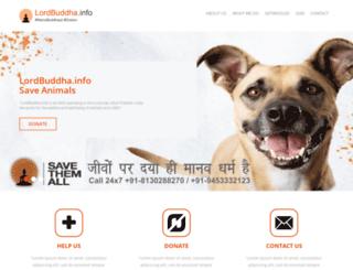 lordbuddha.info screenshot