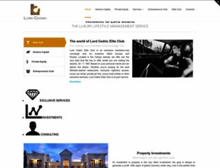 lordcedric.com screenshot
