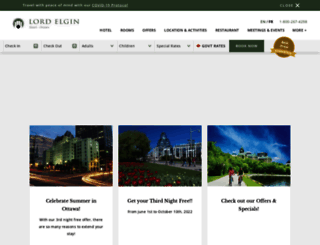 lordelginhotel.ca screenshot