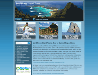 lordhoweislandtours.net screenshot