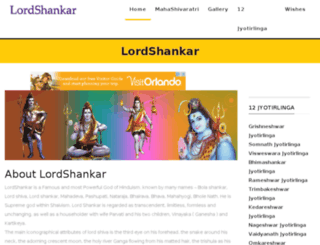lordshankar.in screenshot