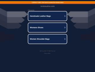 lordsleather.com screenshot